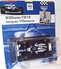 Williams FW19 Jacque VILLENEUVE 1997 SCALA 1-43 NUOVO IN BLISTER cardate