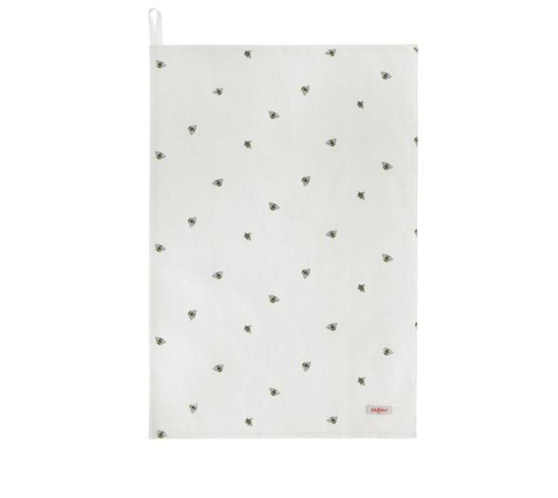 CATH KIDSTON Cotton Tea Towel, Bumble Bee