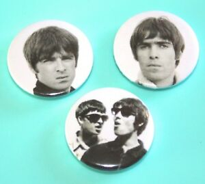 SET-OF-3-BRIT-POP-OASIS-LIAM-AND-NOEL-GALLAGHER-BUTTON-PIN-BADGE