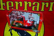Hot Wheels 1/18 2004 Ferrari F1 Schumacher Marlboro 7 x World Champion pitboard