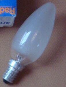 Ampoule-Flamme-EDISON-E14-25W-depolie-PHILIPS-GIRARD-SUDRON-CROZE-NEUVE