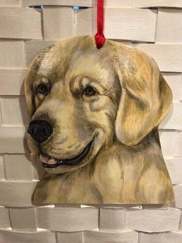 Golden Retriever Wooden Ornament