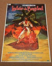 THIEF OF BAGHDAD Original Movie Poster RODDY MCDOWALL TERENCE STAMP FRANK FINLAY
