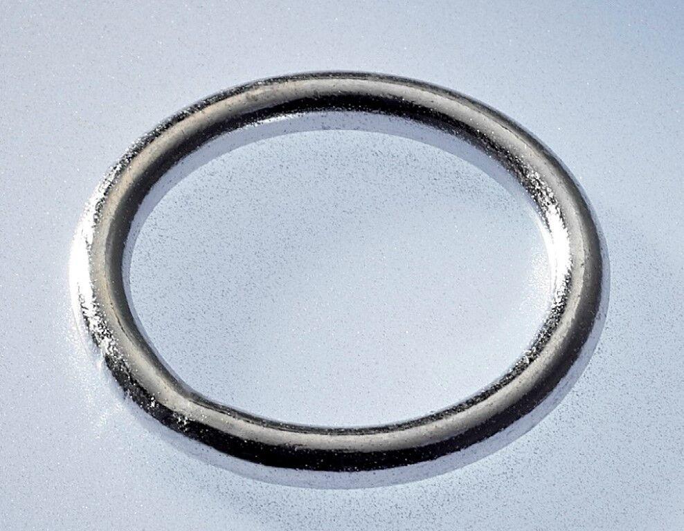 100 x Rundring verzinkt 70 x 5 mm  O-Ring Ringe Ring Rundringe O-Ringe