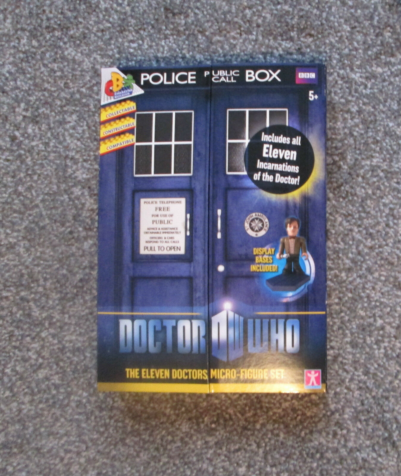 Doctor Who Character Eleven Doctors Micro-figure set