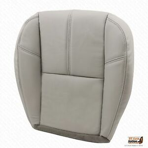 Sensational Details About 2007 2008 2009 Chevy Silverado 1500 Driver Bottom Leather Seat Cover Gray 833 Ncnpc Chair Design For Home Ncnpcorg