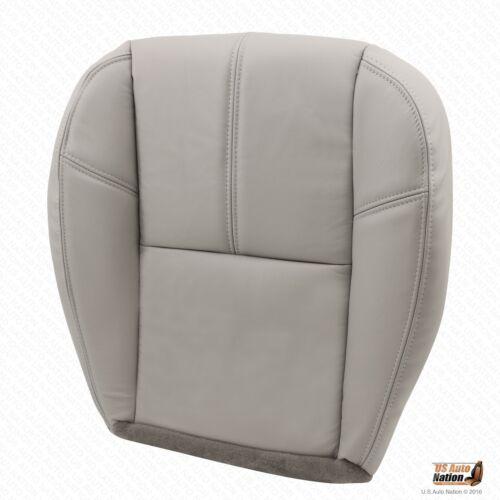 2007 2008 2009 2010 Chevy Silverado Driver Bottom Leather Seat Cover Gray #833