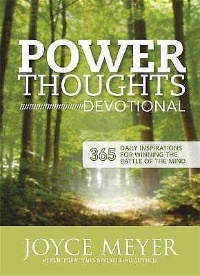 Power Thoughts Devotional : 365 Daily Inspirations for Winning the Battle of ...