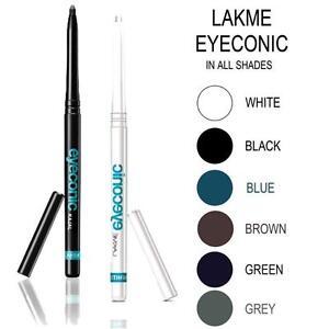 305aa7a0542 Lakme Eyeconic All Shades Kajal/kohl Waterproof No Smudge Eyeliner ...