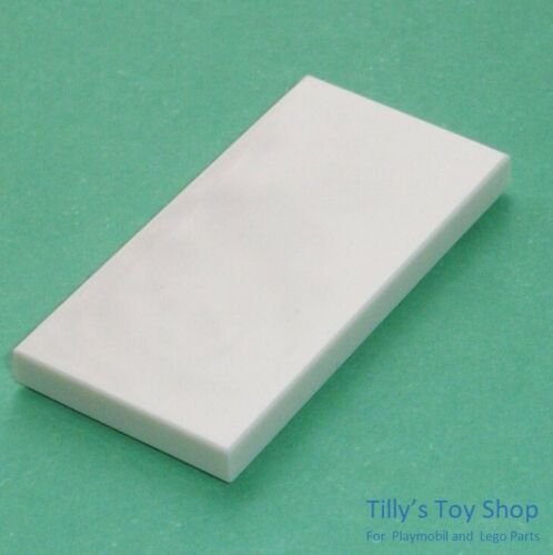 Pick a Colour Lego ID 87079 Eight 2x4 Stud Thin Tile Smooth Brick NEW