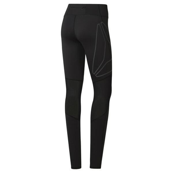 New Reebok Sz Small Reflective Tights Sportswear Workout Leggings Womens