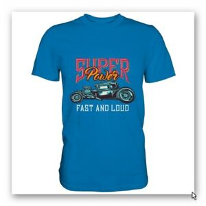 MGD-Super-Power-T-Shirt-Rundhals-blau-Versandfrei-Groesse-angeben