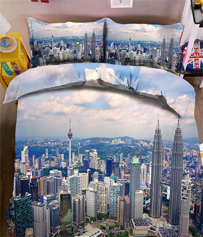 Indifferent World 3D Printing Duvet Quilt Doona Covers Pillow Case Bedding Sets