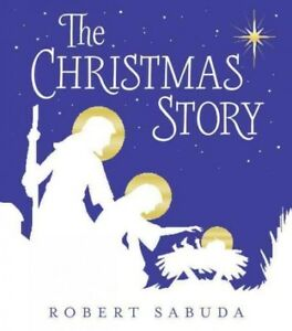 Christmas-Story-School-And-Library-by-Sabuda-Robert-ILT-Brand-New-Free