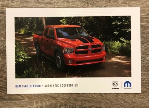 2018 DODGE RAM 1500 CLASSIC ACCESSORIES 20-page Original Sales Brochure