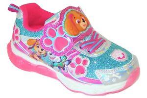 PAW PATROL SKYE Light-Up Sneakers Shoes