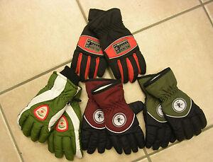 Süß GehäRtet Handschuhe, Fingerhandschuhe, Waterproof, Rot, Orange, Grün Oder Hellgrün Neu!!!