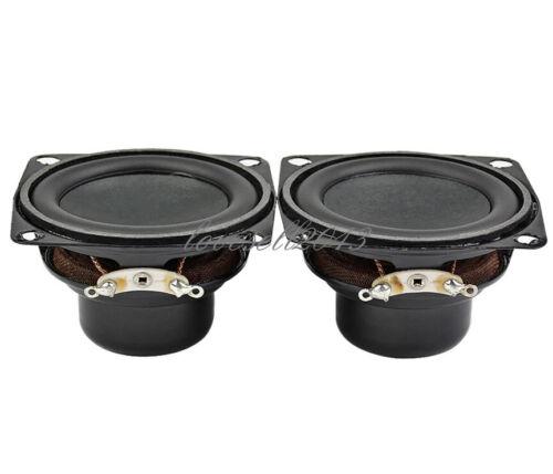 2Pcs 53MM 4Ohm 10W Audio Speaker Full Range Speakers Bass Multimedia Loudspeaker