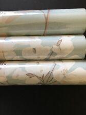 Laura Ashley Millwood Duck Egg Blue wallpaper rolls