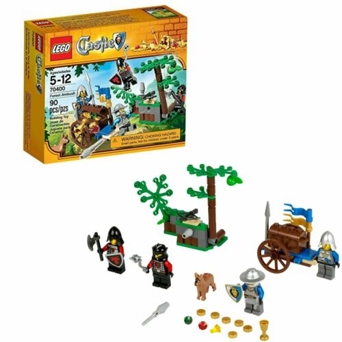 Lego Castle Forest LEGO Ambush 70400 Gift King/'s Knights /& Dragon Soldiers New