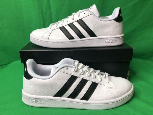 adidas Men's Grand Court 10 M US - Black/White