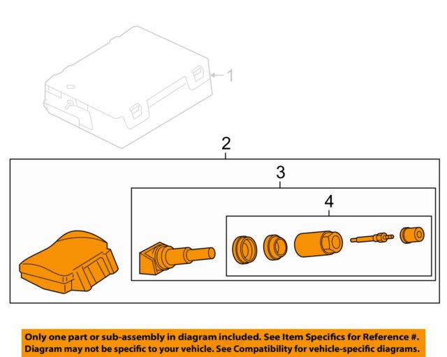 jaguar oem 16-17 f-type-tire pressure sensor c2d43636