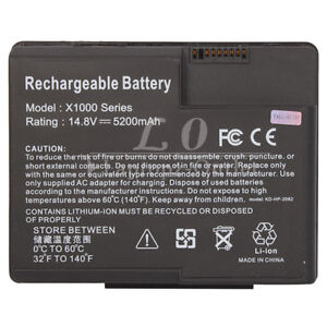 new 8 cell laptop battery for hp compaq presario x1000 x1100 x1200 rh ebay com Windows 95 Compaq Presario Compaq Presario CQ57