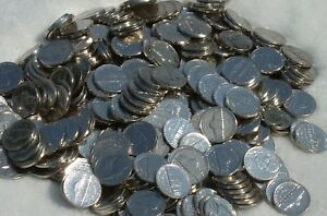 Jennings-Slot-Machine-Nickels-5-cent-400-TUMBLE-CLEANED-WASHED