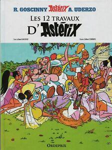Asterix-Les-12-travaux-d-039-Asterix-UDERZO-Album-cartonne-Hors-Commerce-2017