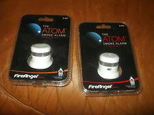 2 FireAngel el átomo humo alarma pequeño pero poderoso Fire Angel Sl-602r Nuevo Y En Caja