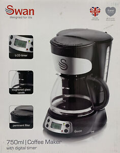 Swan SK13130N 700W Coffee Maker - Black Use Once