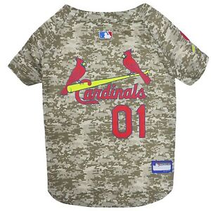 St-Louis-Cardinals-MLB-Officially-Licensed-Dog-Pet-Camo-Jersey-Sizes-XS-XL