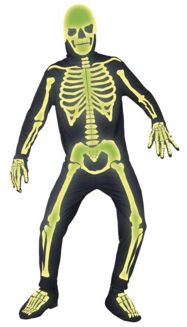 Smiffys Mens Skeleton Second Skin Costume