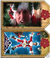 NATIONAL LAMPOON'S CHRISTMAS VACATION SCRAPBOOK CARD EMBELLISHMENTS HANG TAGS