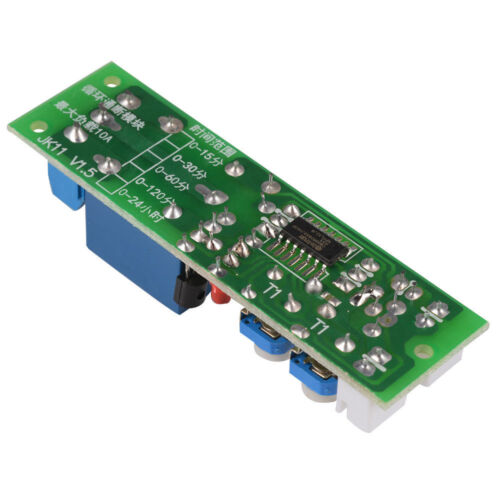 DC 5//12//24V 15//60min Infinite Cycle Delay Timer Timing Relay Turn ON//OFF Module