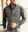 Herren V-Ausschnitt Wolle Herringbone Tweed Gelegentlich Westen Anzug Geschäft++