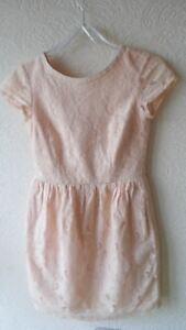 aaa6ed332fc742 Das Bild wird geladen Damen-Spitzenkleid-Mini-Sommerkleid-Kleid-aus-Spitze -H-
