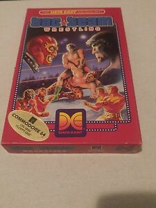 Tag-Team-Wrestling-Commodore-64-1987-NO-MANUAL
