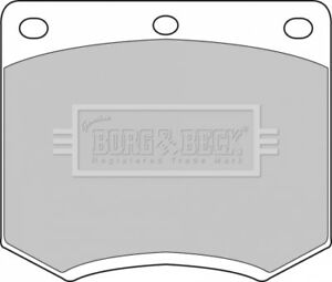 Borg-amp-Beck-Disc-Brake-Pad-Set-Pads-BBP1095-GENUINE-5-YEAR-WARRANTY