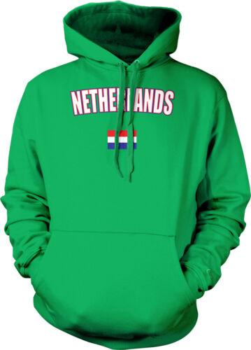 The Netherlands Amsterdam Dutch Flag European Pride Flag Hoodie Pullover