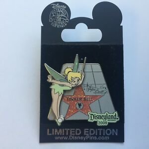 DLR-Tinker-Bell-039-s-Hollywood-Walk-of-Fame-Star-LE-1000-Disney-Pin-65292