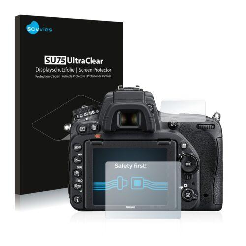 Protector de pantalla 18x para Nikon d750 lámina protectora claro lámina protector de pantalla