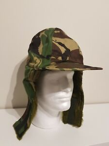 Image is loading Genuine-British-Army-Goretex-Trapper-Hat-Winter-Camo- 1a9a8ba2baa