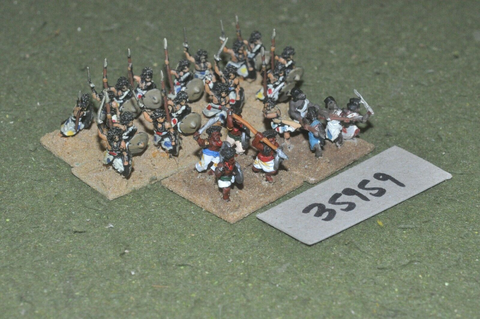 15mm colonial     mahdists - dervishes 24 figures - inf (35959) 3c8d92