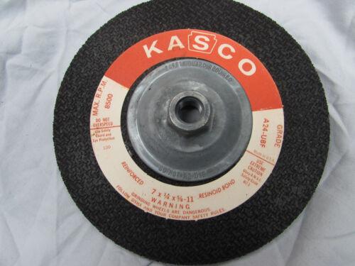 "11 A24-UBF Kasco Grinding Wheel 7/"" x 1//4/"" x 5//8/"""