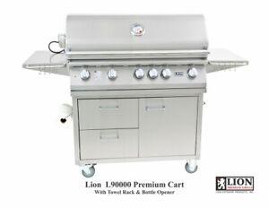 Lion 90000 40 Inch Premium Propane Grill On Cart