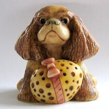 Pascha - Pot Bellys - Nib - Easter Egg - King Charles Spaniel Dog Days Figurine