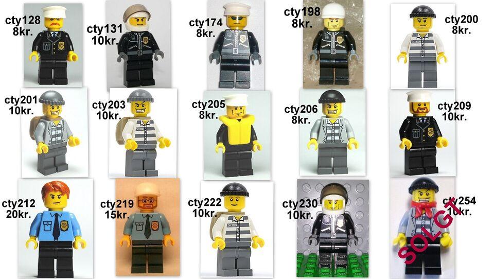Lego Minifigures, Police