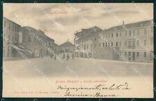 Treviso città Borgo Mazzini cartolina QT8093