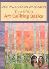 Jane Davila and Elin Waterston Teach You Art Quilting Basics by Jane Davila, Elin Waterston (DVD, 2008)